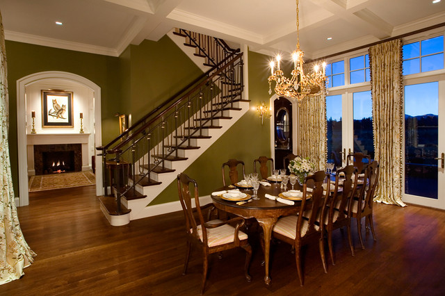 Residential Interiors traditional-dining-room