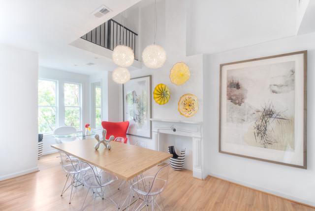 Residential modern-dining-room