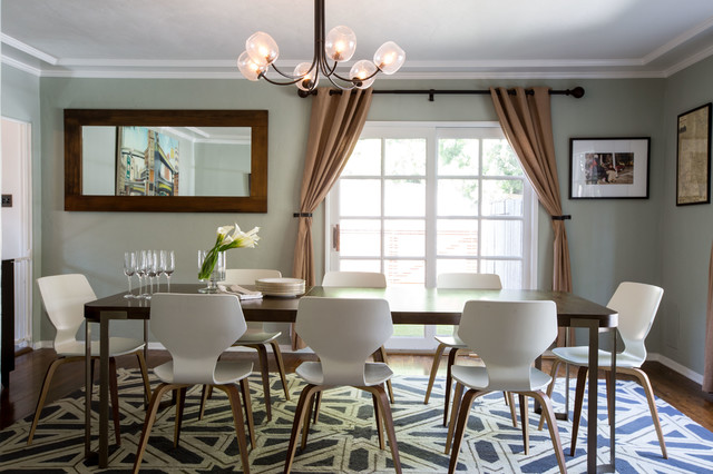 Residential Lotruglio Transitional Dining Room Los Angeles By Polanco Designs Houzz Uk