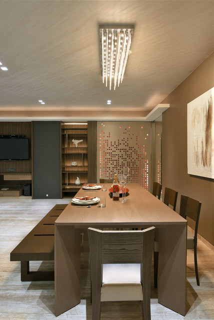 Residential Project In Mumbai Modern Dining Room Mumbai By Form Space N Design Architects