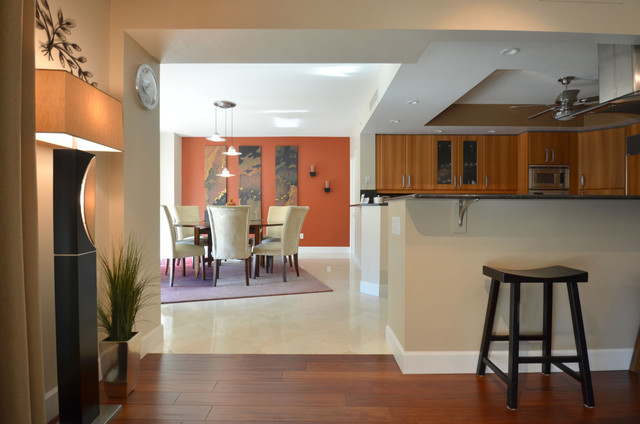 residential projects contemporary-dining-room