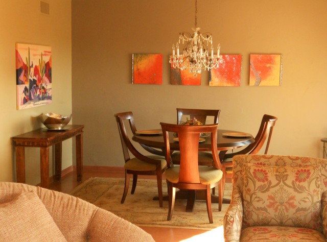 Residential Spaces contemporary-dining-room