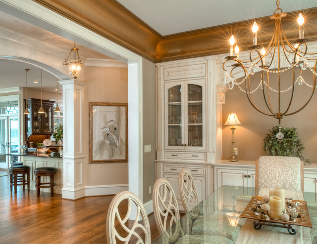 Residing on the Severn traditional-dining-room