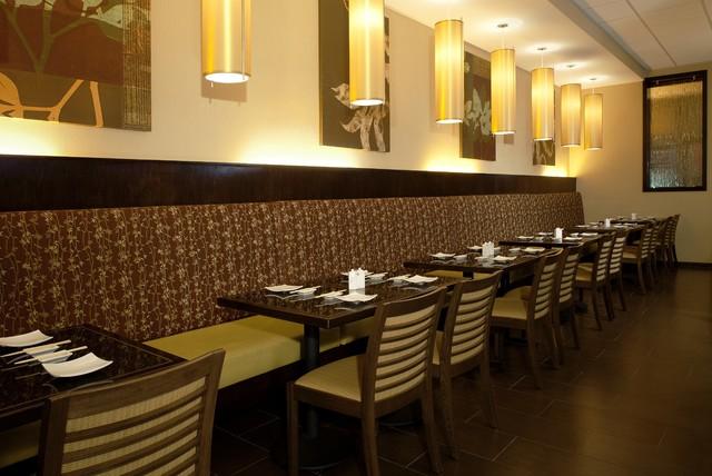 Restaurant dining room asian los angeles