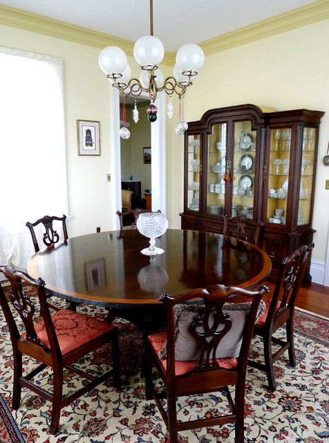 Restoration Addition to an original 1860's Tomales Farmhouse farmhouse-dining-room