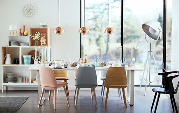 Retro 60 39 s scandinavian style modern dining room perth by bella life style - Scandinavian style dining rooms ...