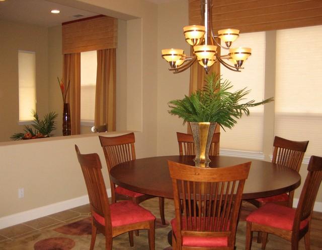 Retro design open dining room modern dining room san for Open dining room ideas
