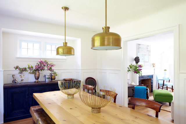 Reviving a classic tudor cottage to a fresh family home traditional-dining-room