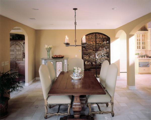 Richens designs residential kitchen design for Mediterranean dining room design ideas