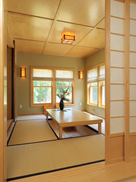 Ridge View Residence Asian Dining Room Boston By