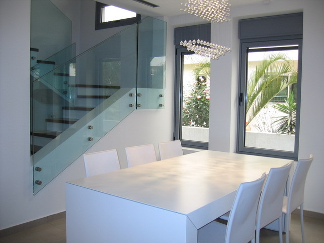 modern dining room by Rina Magen