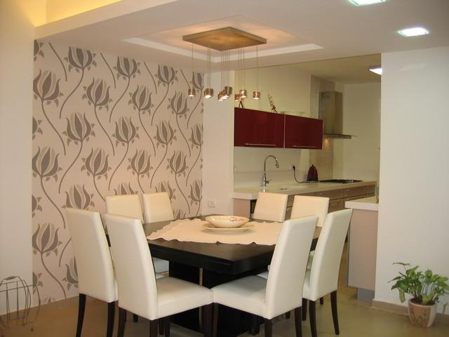 Rina Magen contemporary-dining-room