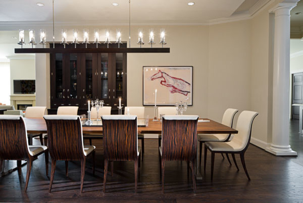 Ritz carlton penthouse contemporary dining room for Dining room design questions