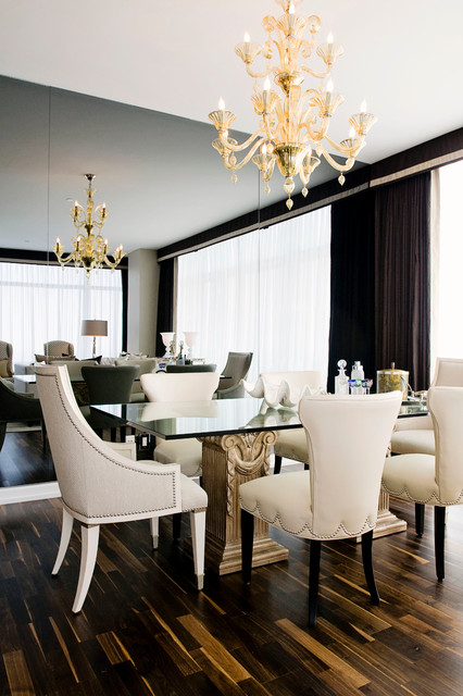 Ritz-Carlton Residences traditional-dining-room
