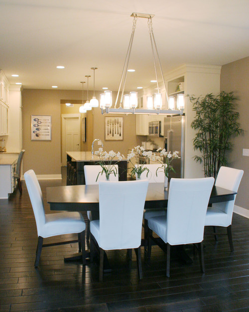 What are the dimensions of the lighting over the dining for Lighting for over dining room table