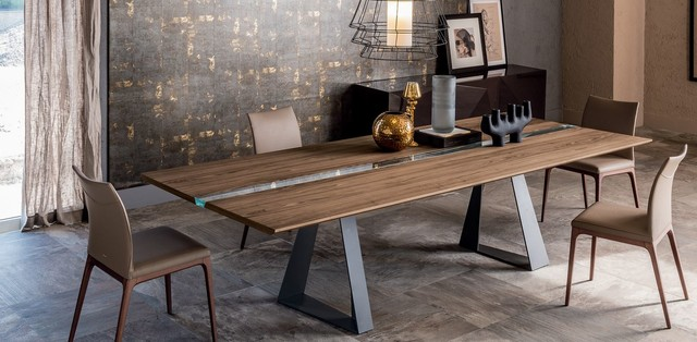 river dining table dining room chicago by casa spazio