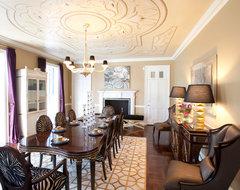 River Oaks Residence transitional-dining-room