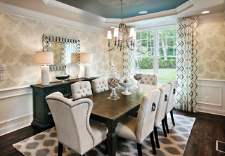 Charmant River Ridge   Southwick   Transitional   Dining Room   Chicago   By Mary  Cook