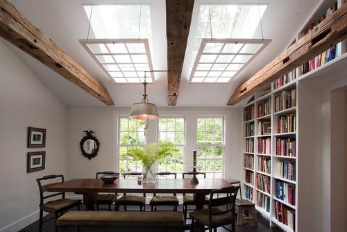 Openable skylight windows