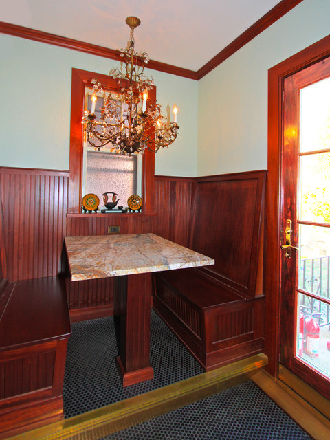 Riverdale Ny Tudor Style House Traditional Dining Room New York By Bmg Design Build Llc