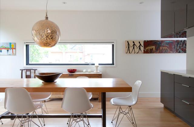 Riverdale Renovation modern-dining-room