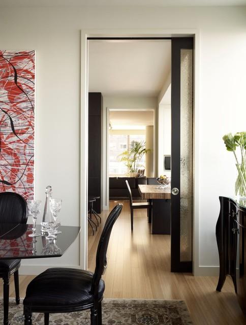 Riverhouse enfilade for Contemporary door trim
