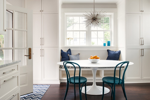 banquette seating kitchen design trends