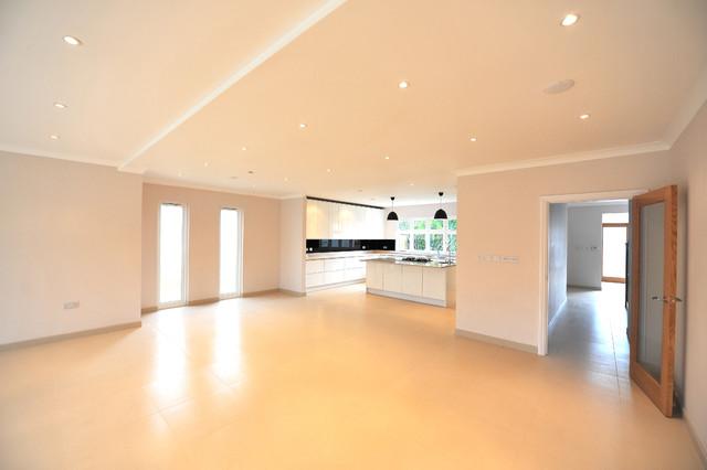 Riverside kingston upon thames modern dining room for Furniture zone thames