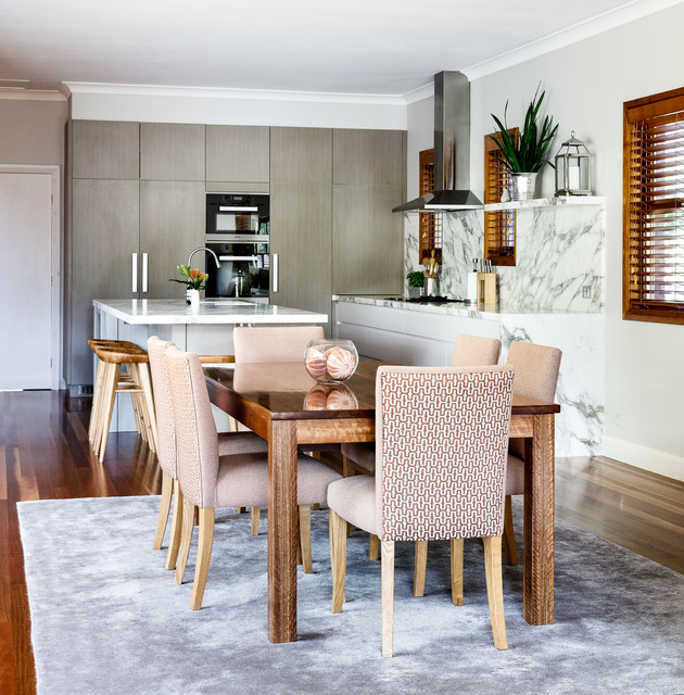 RM Residence transitional-dining-room