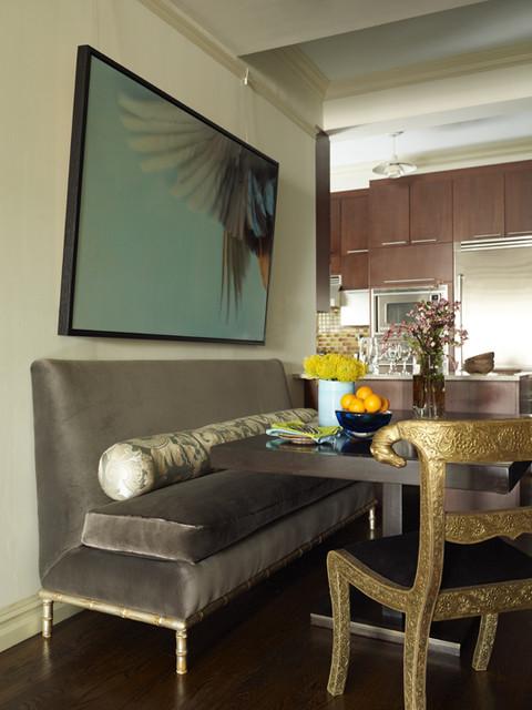 Robert Passal Interior Design eclectic-dining-room