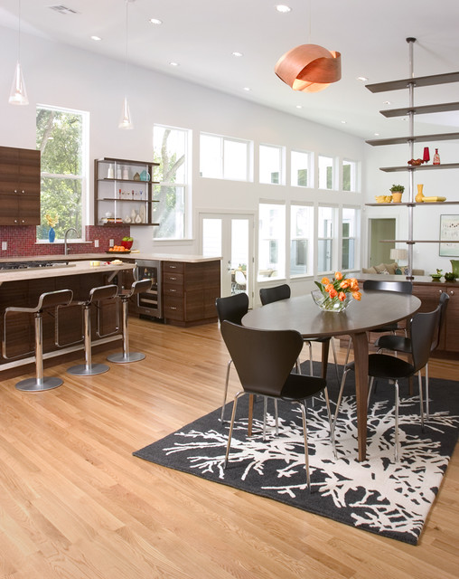 Contemporary Dining Room by Steve Zagorski, Architect