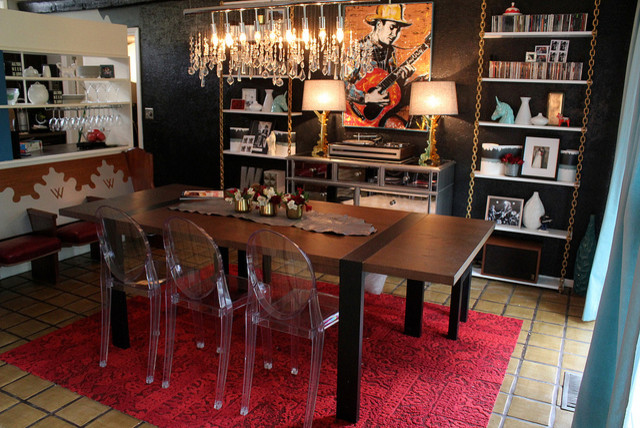 Http Www Houzz Com Photos 11360566 Rock N Roll Dining Room Eclectic Dining Room Other Metro