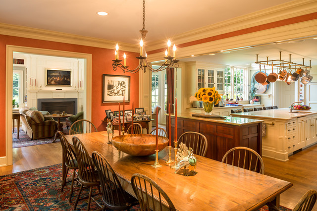 Rockland additions traditional dining room philadelphia by archer buchanan - Dining room additions ...