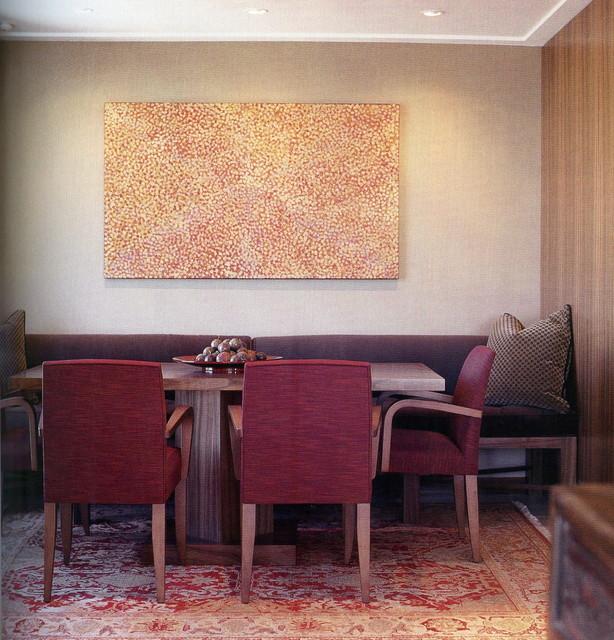 """""""Rockwall"""" contemporary-dining-room"""