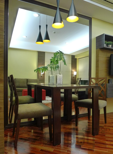 Rockwell Manansala Tower traditional-dining-room