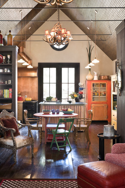 Rocky Mountain Retreat Rustic Kitchen Denver By