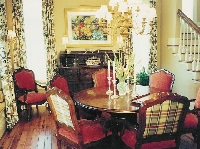 Rocky Mountain Victorian Traditional Dining Room