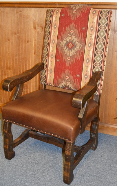 Rocky Top End Chair American Southwest Dining Room