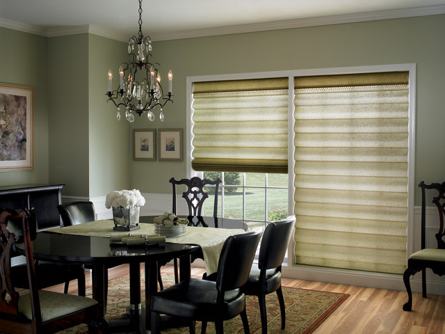 Elegant Roman Shades Add Just The Right Touch To This Formal Dining Room  Traditional Dining