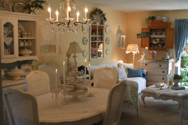 Romantic Home Shabby Chic Style Dining Room