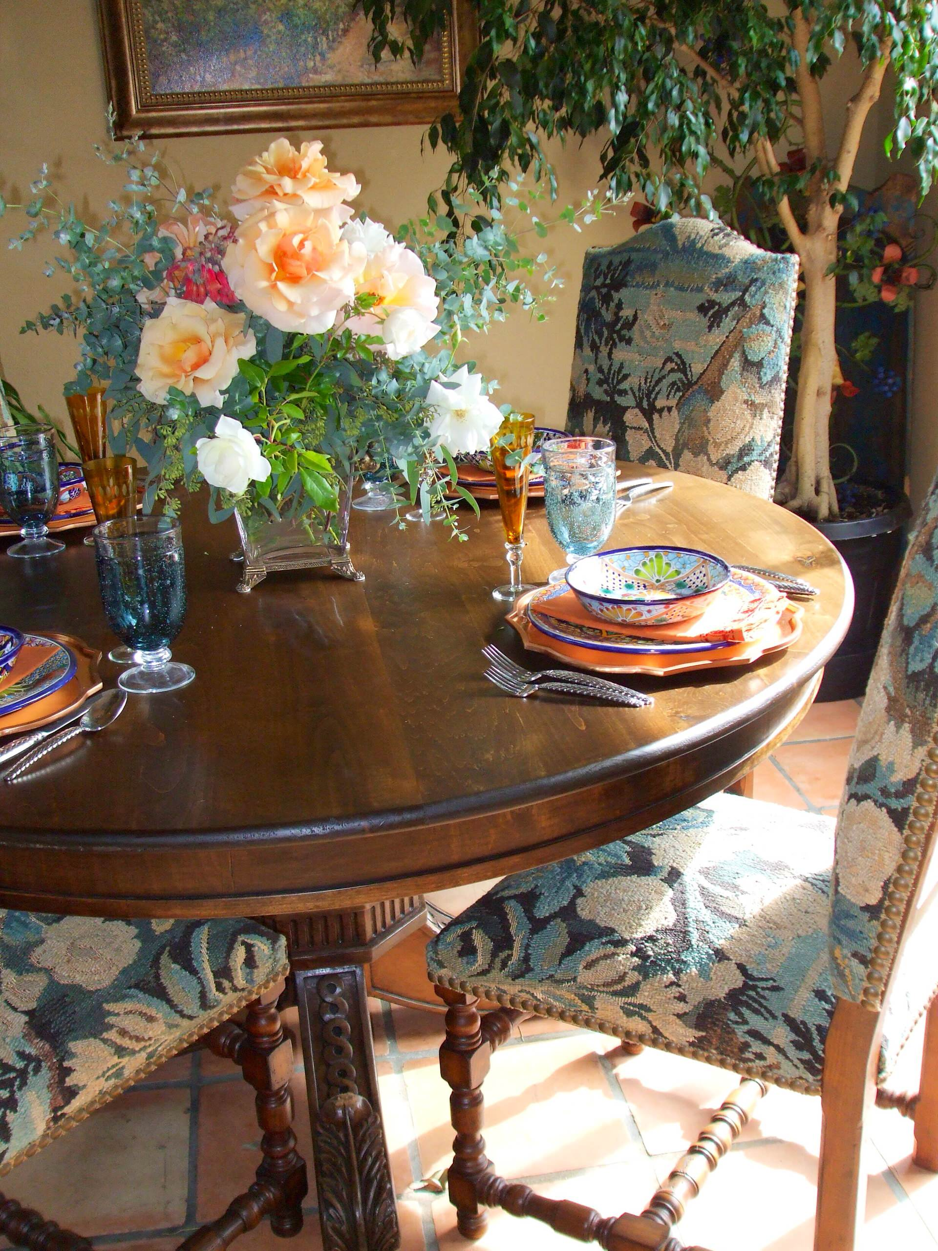 Romantic Spanish Dining Room