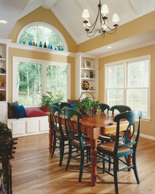 Room additions transitional dining room atlanta by minchew and company - Dining room addition ...