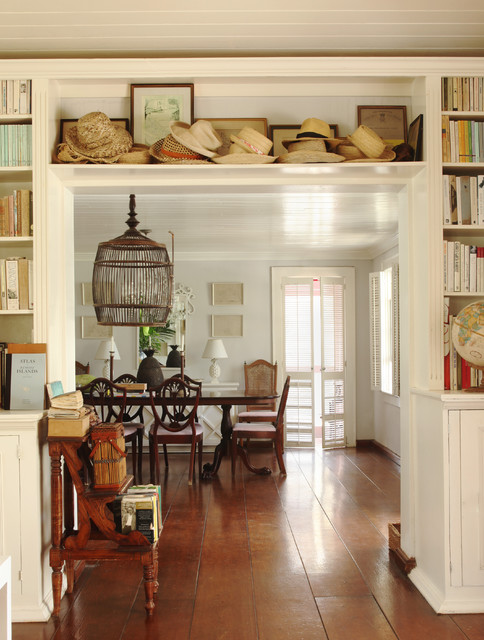 Rooms to Inspire by the Sea by Annie Kelly beach homes houses traditional-dining-room