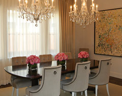 Rosa's Formal Dining contemporary-dining-room