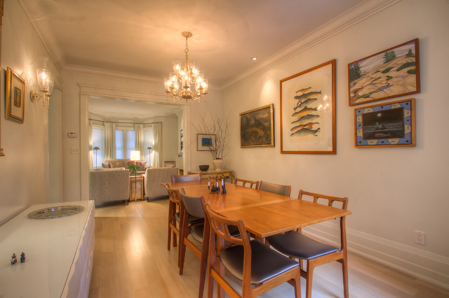 Rosedale Semi-detached contemporary dining room
