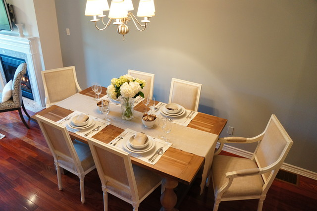 Rosedale Townhouse Transitional Dining Room Toronto