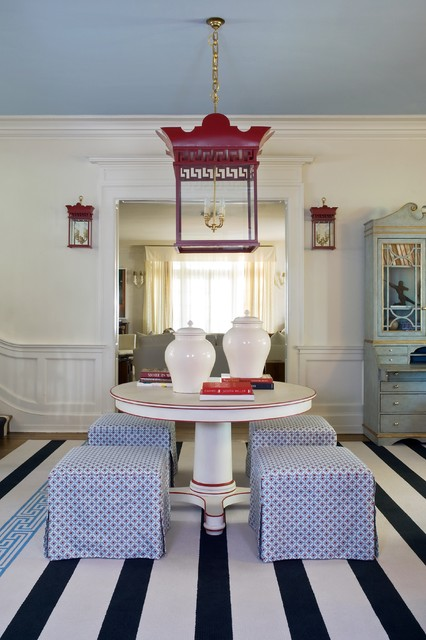 Rothesay Designer House eclectic-dining-room