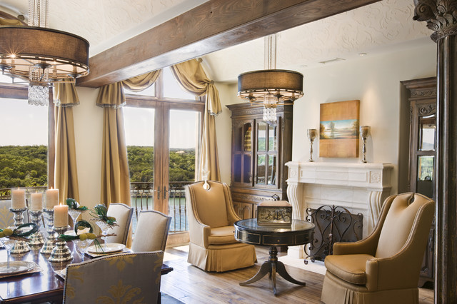 Rough Hollow Dining - Mediterranean - Dining Room - Austin - by ...