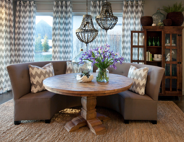 Wonderful Round Karma Dining Collection Nice Ideas