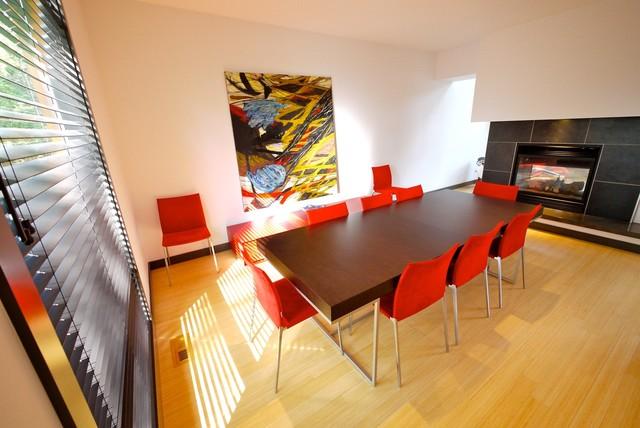 Roxboro House modern-dining-room